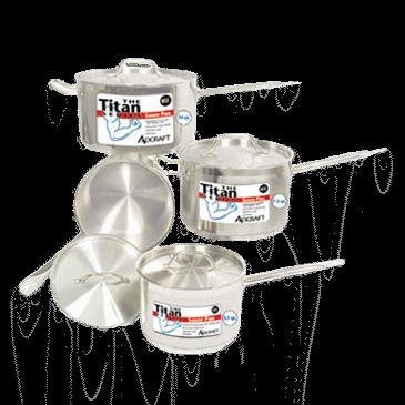 "Admiral Craft Admiral Craft SPS-35 Titan Series"" Induction Sauce Pan"