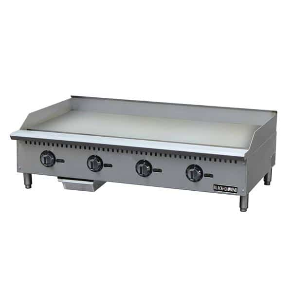 Admiral Craft Admiral Craft BDCTG-48T Black Diamond Thermostatic Gas Griddle