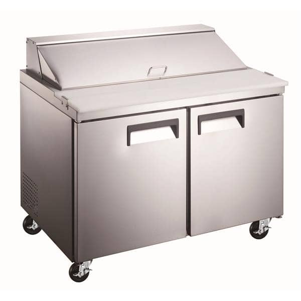 Admiral Craft GRSL-2D Grista Refrigerated Salad/Sandwich Prep Table