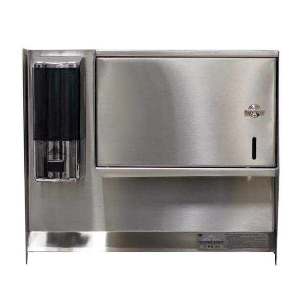 Advance Tabco 7-PS-34 Soap & Towel Dispenser