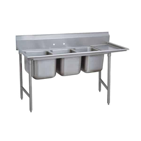 Advance Tabco 9-3-54-36R Regaline Sink
