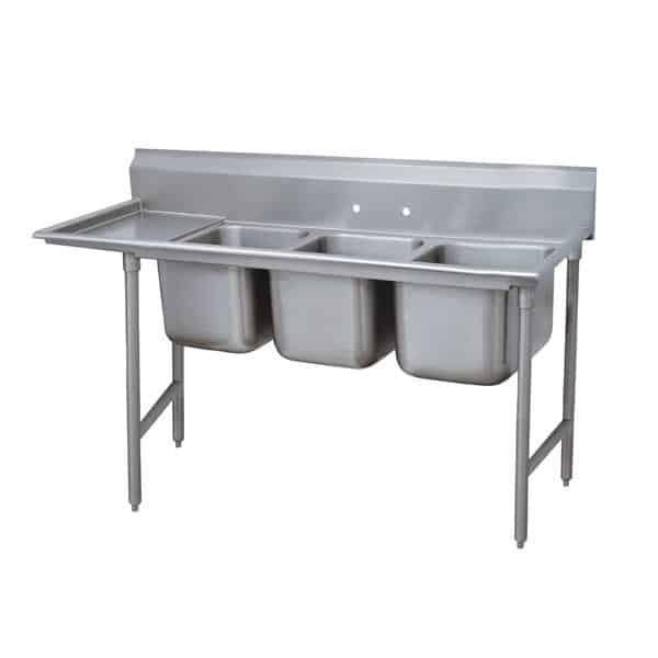 Advance Tabco 9-43-72-24L Regaline Sink
