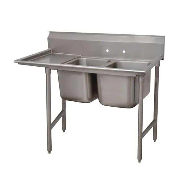 Advance Tabco 9-82-40-18L Regaline Sink