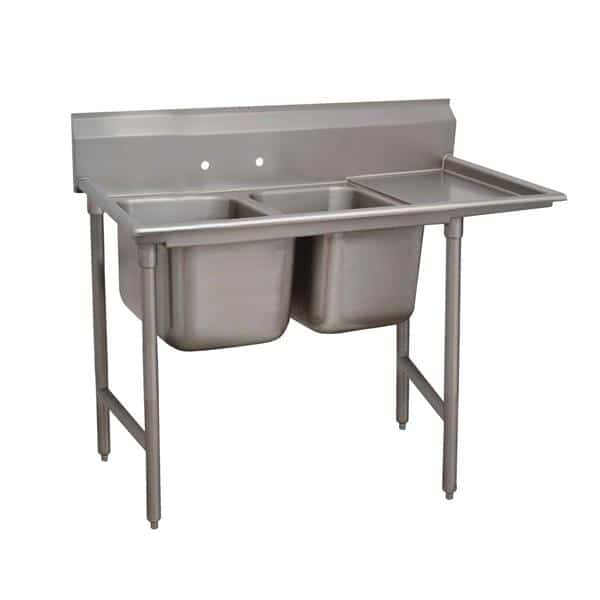 Advance Tabco 93-2-36-36R Regaline Sink