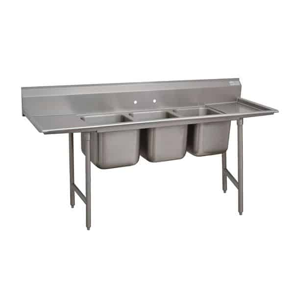 Advance Tabco 93-3-54-36RL Regaline Sink