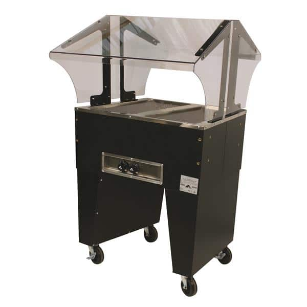 Advance Tabco B2-120-B Portable Hot Food Buffet Table