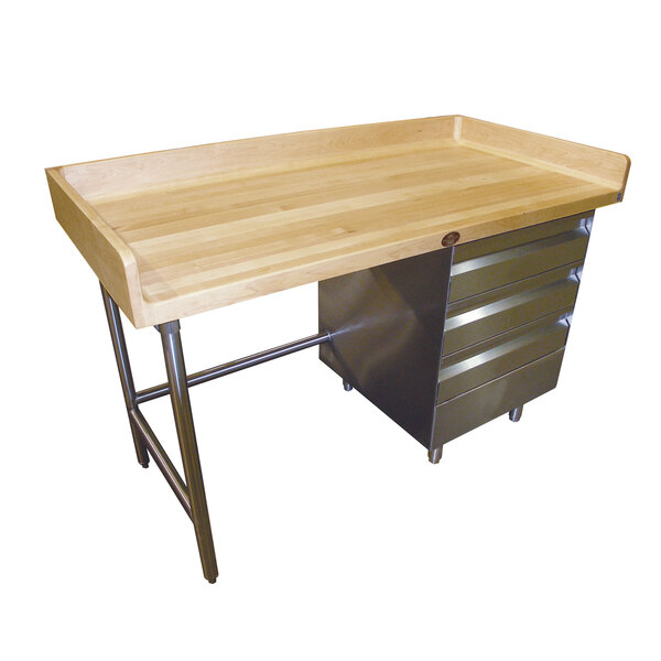 Advance Tabco BGT-305R Bakers Top Work Table