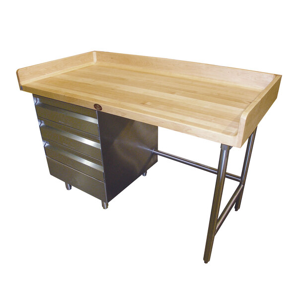 Advance Tabco BGT-308L Bakers Top Work Table