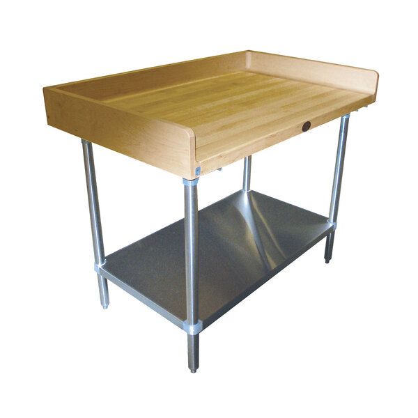 Advance Tabco BS-304 Bakers Top Work Table