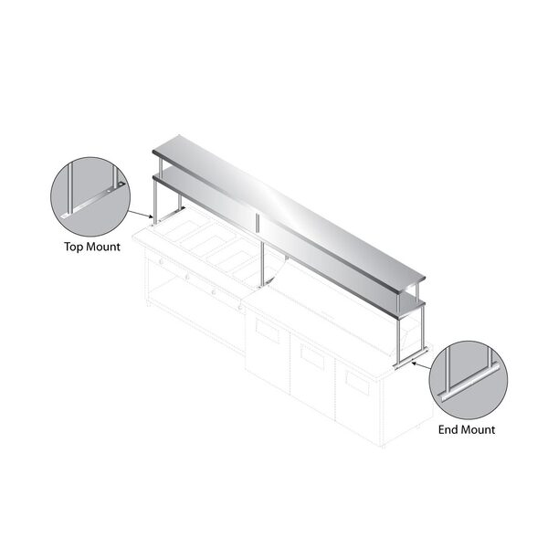 Advance Tabco CU-18-108-2 Shelf