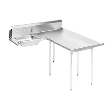 Advance Tabco DTS-D60-72R Dishlanding-Soil Dishtable