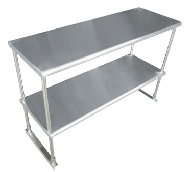 Advance Tabco EDS-18-96-X Special Value Double Overshelf