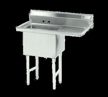 Advance Tabco FC-1-1818-24R-X Fabricated NSF Sink