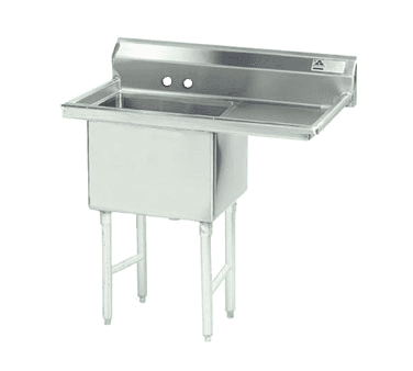 Advance Tabco FC-1-2424-18R Fabricated NSF Sink