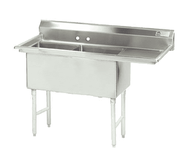 Advance Tabco FC-2-1824-24R-X Fabricated NSF Sink