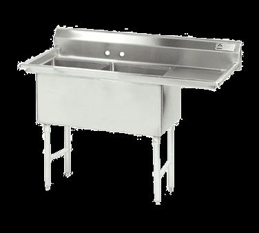 Advance Tabco FC-2-2424-24R-X Fabricated NSF Sink