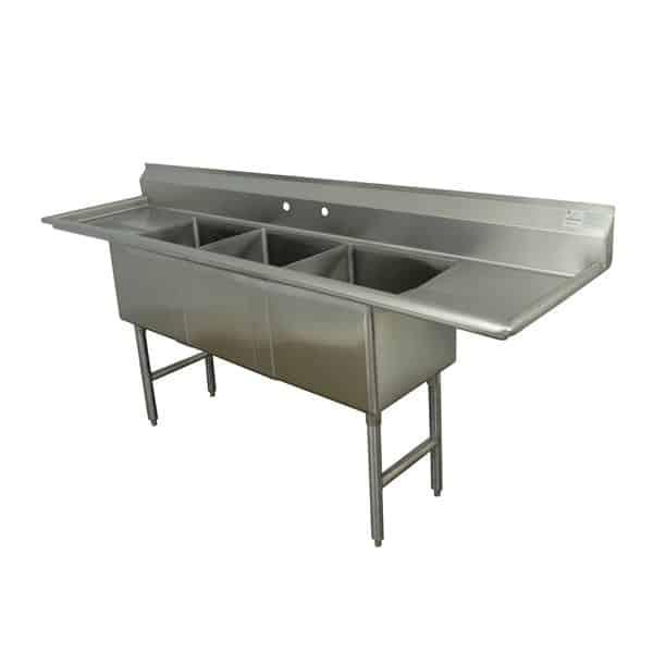 Advance Tabco FC-3-2028-24RL Fabricated Sink