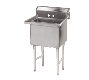 Advance Tabco FC-1-1818-X Fabricated NSF Sink