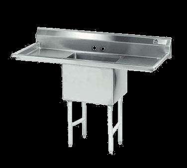 Advance Tabco FS-1-1824-18RL Fabricated NSF Sink