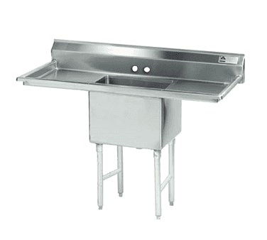 Advance Tabco FS-1-3024-24RL Fabricated NSF Sink