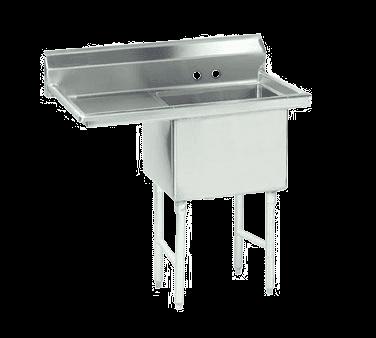 Advance Tabco FC-1-1620-18L-X Fabricated NSF Sink