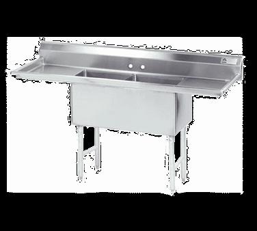 Advance Tabco FS-2-1524-24RL Fabricated NSF Sink
