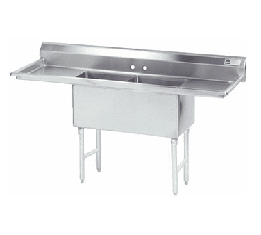 Advance Tabco FS-2-1824-24RL Fabricated NSF Sink