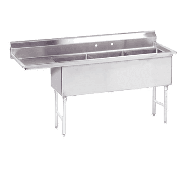 Advance Tabco FS-3-1620-18L Fabricated Sink