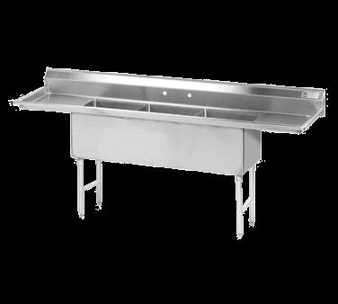 Advance Tabco FS-3-1818-18RL Fabricated NSF Sink