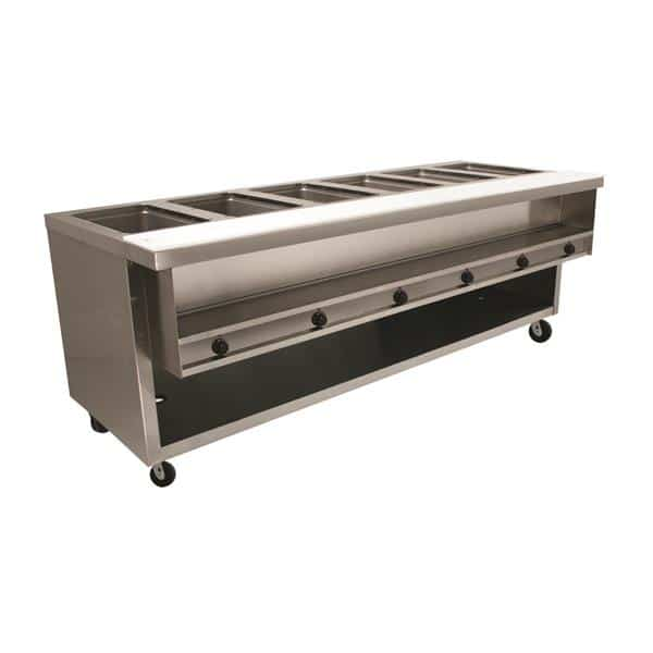 Advance Tabco HDSW-6-240-BS Heavy Duty Sealed Well Hot Food Table