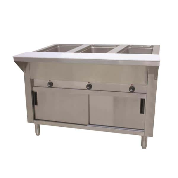 Advance Tabco HF-3E-240-DR Hot Food Table