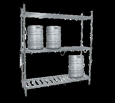 Advance Tabco KR-72 Keg Rack