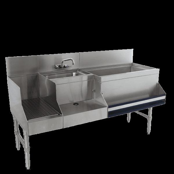 Advance Tabco PRU-24-60R Prestige Uni-Serv Speed Bar