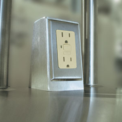 Advance Tabco TA-62D Duplex Electrical Outlet with GFI