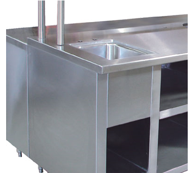 Advance Tabco TA-92 Apron in front of sink