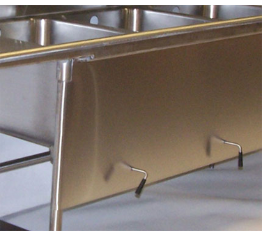 Advance Tabco TA-92A Apron with lever drain support holes
