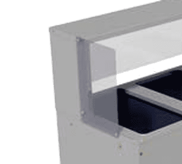 Advance Tabco TSP-1 End panel for TSS series buffet shelf