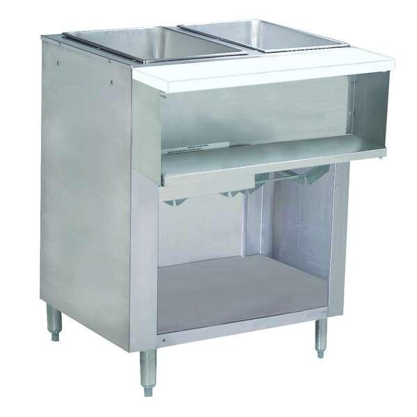 Advance Tabco WB-2G-LP-BS Water Bath Hot Food Table
