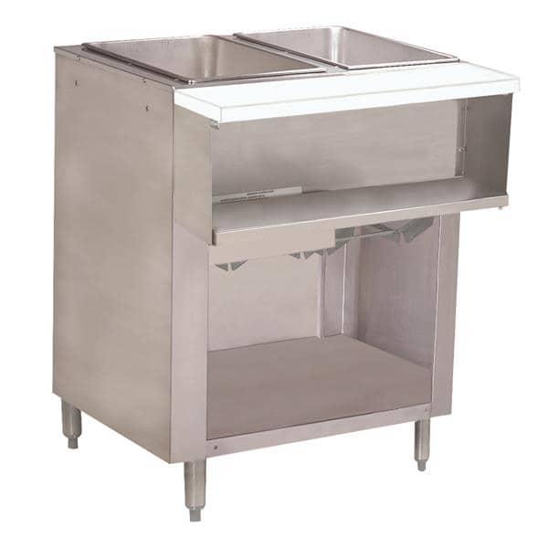 Advance Tabco WB-2G-NAT-BS Water Bath Hot Food Table