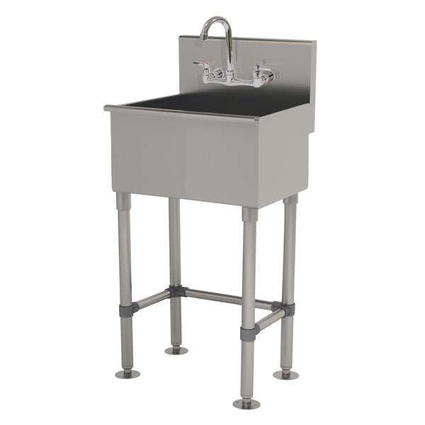 Advance Tabco WSS-16-25-FM-F Service Sink