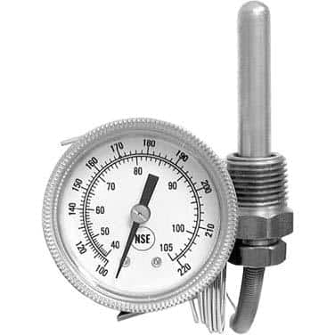 AllPoints Foodservice Parts & Supplies 62-1113 Temperature Gauge