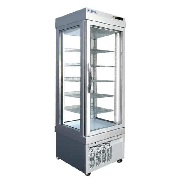 AMPTO AMPTO 4400 NFN 26.38'' 18.0 cu. ft. 1 Section Silver Glass Door Merchandiser Freezer