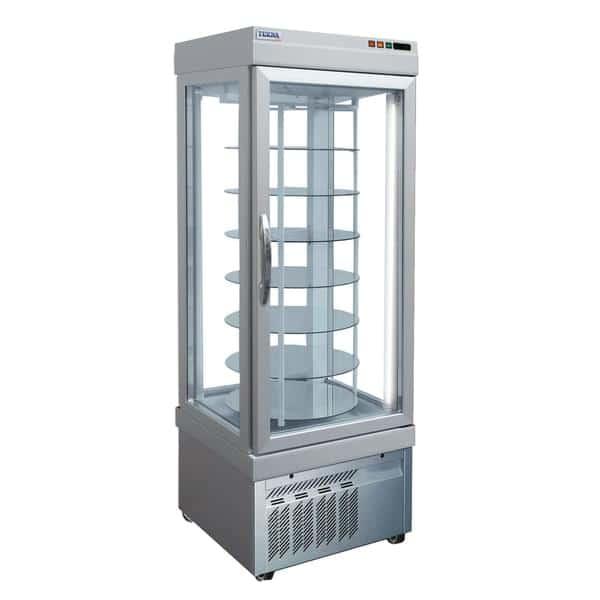 AMPTO AMPTO 4401 NFN 26.38'' 18.0 cu. ft. 1 Section Silver Glass Door Merchandiser Freezer