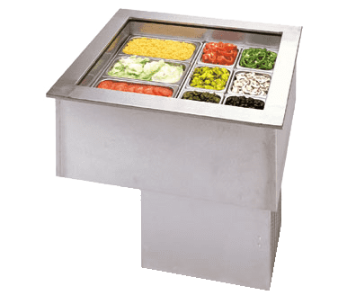 APW Wyott CW-2 Cold Food Well Unit