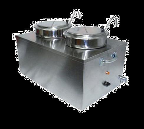 APW Wyott CWM-2SP Food Pan Warmer/Rethermalizer