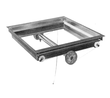 APW Wyott DI-1216 Lowerator® Cup & Glass Rack Dispenser