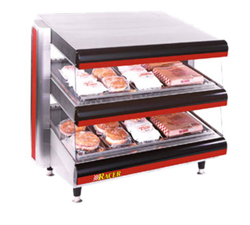 APW Wyott DMXD-54H Racer™ Horizontal Open Air Heated Merchandiser