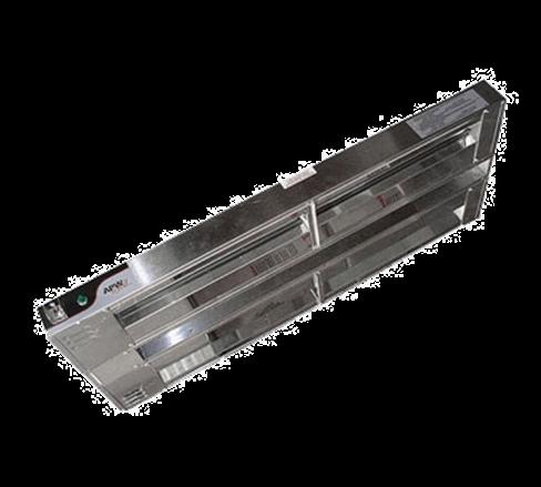 APW Wyott FDD-42L-T Dual Heat Lamp
