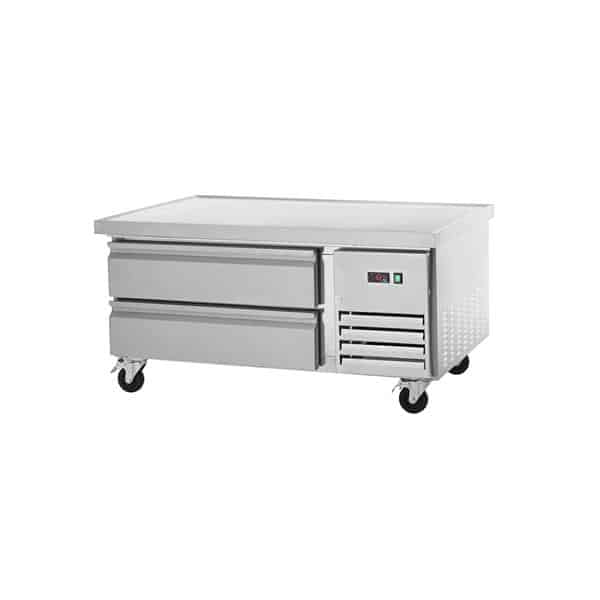 """Arctic Air ARCB48 50"""" 2 Drawer Refrigerated Chef Base with Marine Edge Top - 115 Volts"""