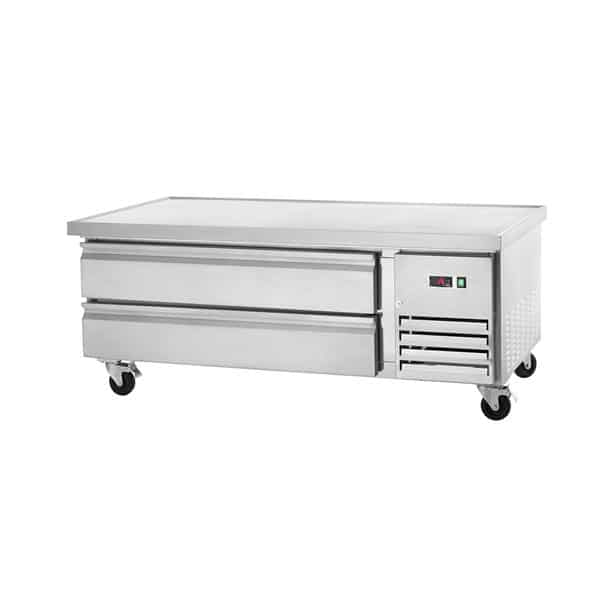 """Arctic Air ARCB60 62"""" 2 Drawer Refrigerated Chef Base with Marine Edge Top - 115 Volts"""